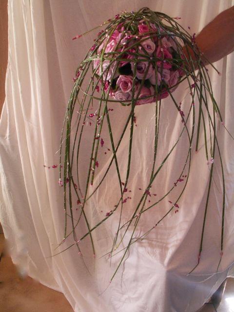 """Bouquets de Mariée"""" Ronds"""" Bouquets  Fleuriste ORCHIS fleuriste Bois d'Arcy 78 # Fleuriste Bois D Arcy"""