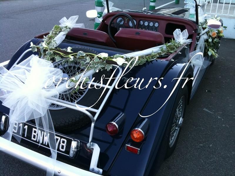 D coration voiture mariage capot design d 39 int rieur et for Deco interieur voiture